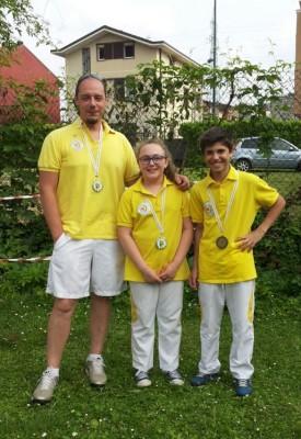 Francesco, Helena e Mattia