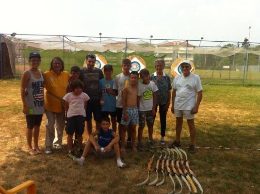 I giovani battitori/arcieri